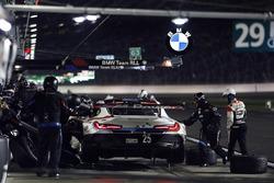 #25 BMW Team RLL BMW M8, GTLM: Bill Auberlen, Alexander Sims, Philipp Eng, Connor de Phillippi, pit