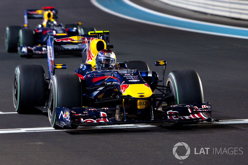 26. El Red Bull Racing RB5 de F1