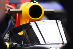 Daniel Ricciardo, Red Bull Racing RB12, avec l'Aeroscreen