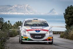 Damiano De Tommaso, Michele Ferrara, Peugeot 208 R2, Peugeot Sport Italia