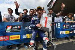 il vincitore Riccardo Rossi, Gresini Racing Junior