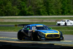 #80 Lone Star Racing Mercedes-AMG GT3: Mike Skeen, Scott Heckert