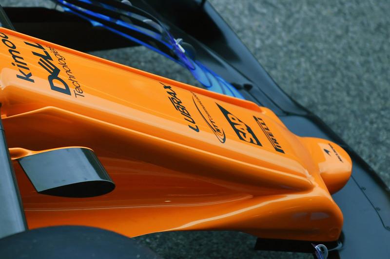 McLaren MCL33, orrkúp