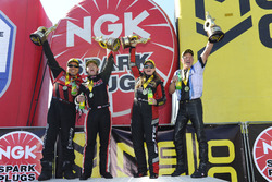 Ganador Top Fuel, Steve Torrence, Ganador Funny Car, Cruz Pedregon, ganadora Pro Stock, Erica Enders-Stevens, ganador Pro Stock Bike, Jerry Savoie