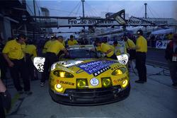 #33 Team Zakspeed Chrysler Viper GTS-R: Pedro Lamy, Peter Zakowski, Michael Bartels