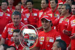 Ferrari fête la première victoire de Felipe Massa, Ferrari