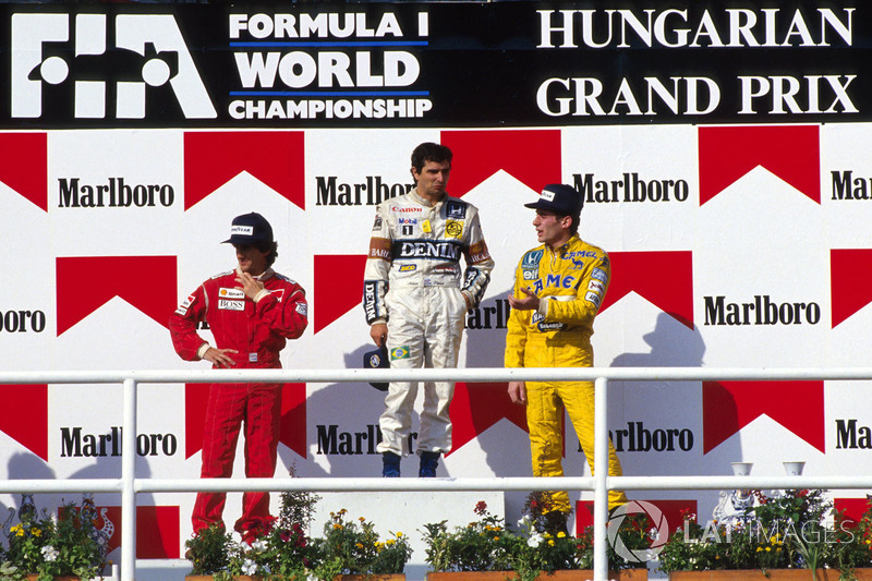 9. GP de Hungría 1987: Nelson Piquet (Williams) y Ayrton Senna (Lotus)