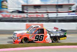 Grant Enfinger, ThorSport Racing Toyota, Patrick Emerling, Plan B Sales Chevrolet Silverado