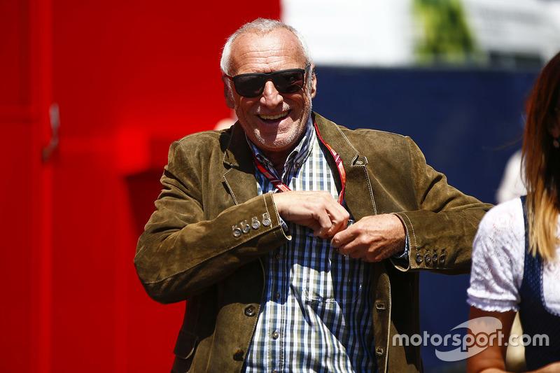 Dietrich Mateschitz, CEO de Red Bull GmbH