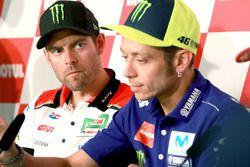 Press Conference, Cal Crutchlow, Team LCR Honda, Valentino Rossi, Yamaha Factory Racing