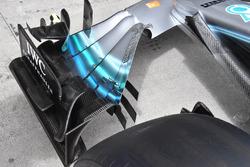 Mercedes-AMG F1 W09 detalle del ala frontal