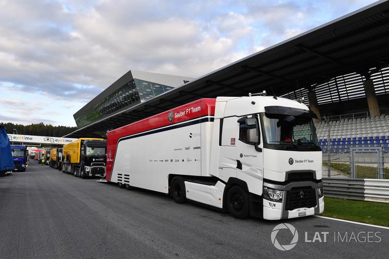 Un camion Sauber
