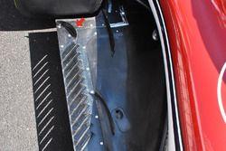 Arrière du plancher de la Sauber C37
