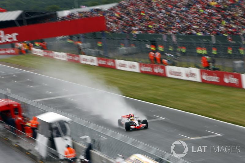 5. Lewis Hamilton, GP de Gran Bretaña de 2008, McLaren MP4-23
