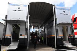 McLaren motorhome construction