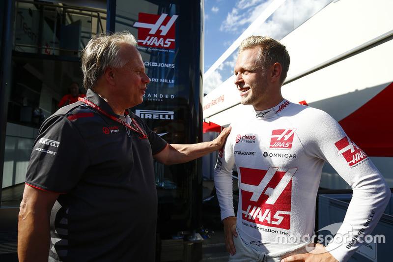Благодаря пятому месту Кевина Магнуссена Haas в своей 50-й гонке добилась наивысшего результата, впервые приведя обе машины к финишу в первой пятерке.
