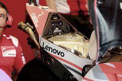 Bike of Jorge Lorenzo, Ducati Team, fuel tank