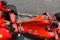 Detalle del Ferrari SF-71H