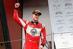 Podium: race winner Nikita Mazepin, ART Grand Prix