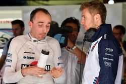 Robert Kubica, Williams y Sergey Sirotkin, Williams