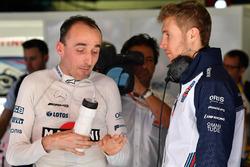 Robert Kubica, Williams i Siergiej Sirotkin, Williams