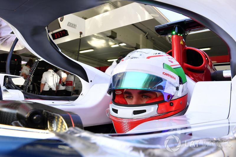 Antonio Giovinazzi, Sauber C37