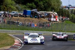 Hans-Joachim Stuck, Porsche 956 C, Timo Bernhard, Porsche 919 Hybrid Evo