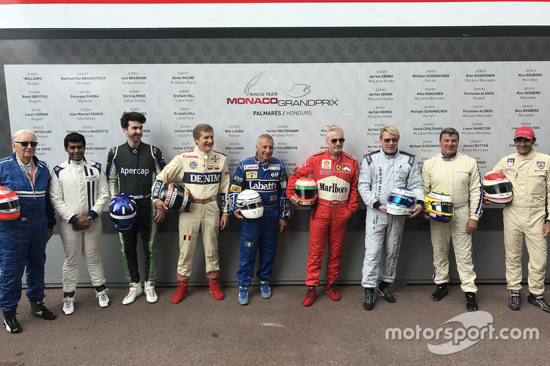 Drivers line-up