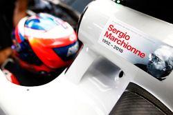 Eerbetoon voor Sergio Marchionne bij Haas