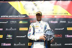 #1 Team Parker Racing Bentley Continental GT3: Rick Parfitt Jr.
