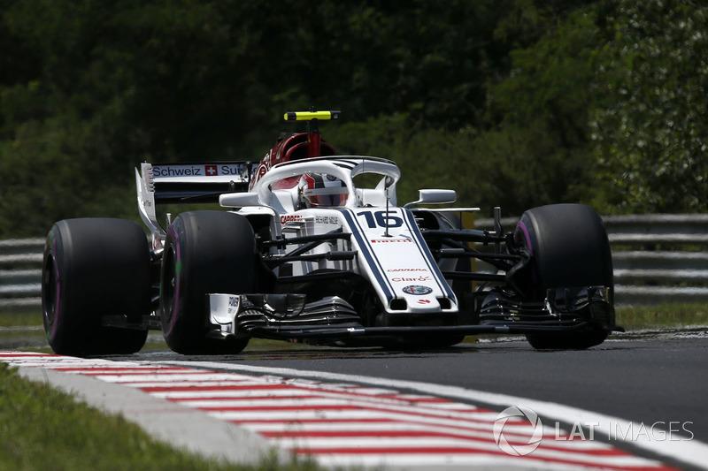 10. Charles Leclerc, Sauber C37