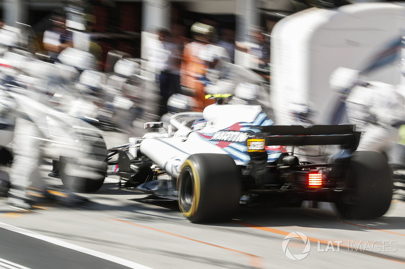 4º Williams con Sirotkin en Hungría (2:10)