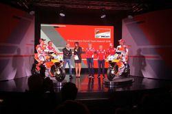 Davide Tardozzi, Team Manager Ducati e Paolo Ciabatti, Direttore Sportivo Ducati, Luigi Dall'Igna, J