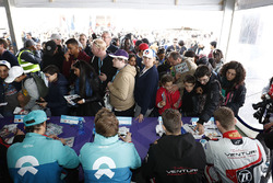 Luca Filippi, NIO Formula E Team, Oliver Turvey, NIO Formula E Team, Maro Engel, Venturi Formula E,