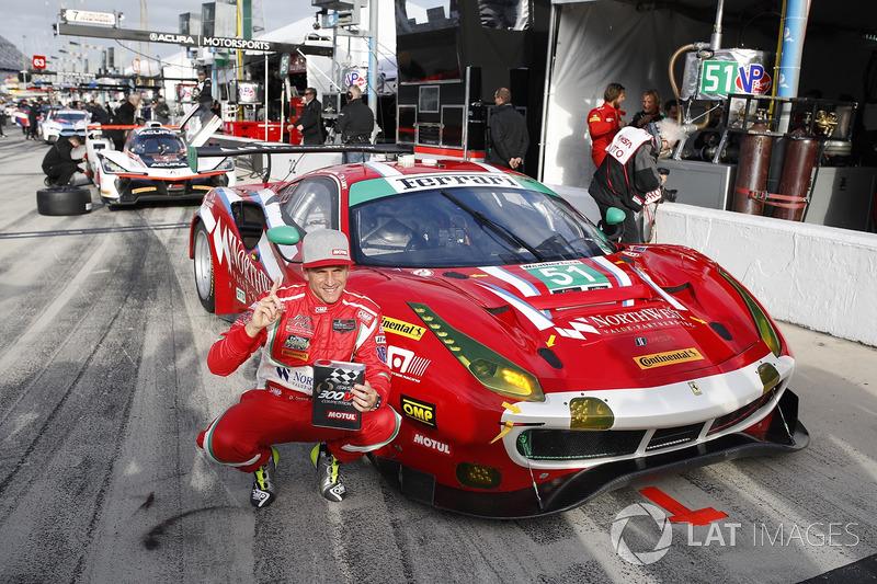GTD ganadores de la pole #51 Spirit of Race Ferrari 488 GT3, GTD: Paul Dalla Lana, Pedro Lamy, Mathias Lauda, Daniel Serra