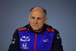 Franz Tost, directeur de Toro Rosso, en conférence de presse