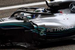 Valtteri Bottas, Mercedes-AMG F1 W09 EQ Power+ in parc ferme