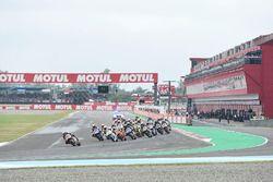Xavi Vierge, Dynavolt Intact GP Race start