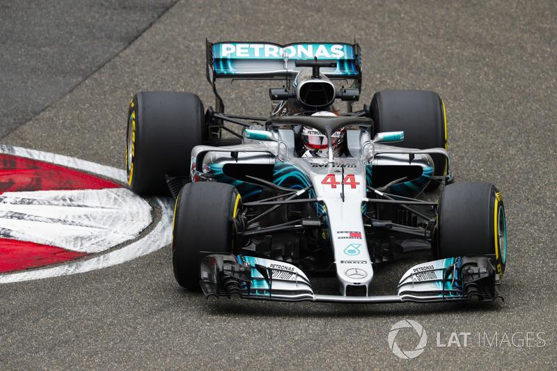 4: Lewis Hamilton, Mercedes AMG F1 W09, 1'31.675