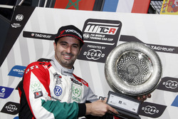 Podio: il secondo classificato Mehdi Bennani, Sébastien Loeb Racing Volkswagen Golf GTI TCR