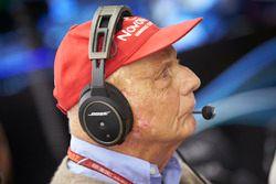 Niki Lauda, presidente non esecutivo, Mercedes AMG