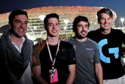 Carlos Rodriguez Santiago, Gamer & Founder of G2 Esports, Fernando Alonso, McLaren and Cem Bolukbasi