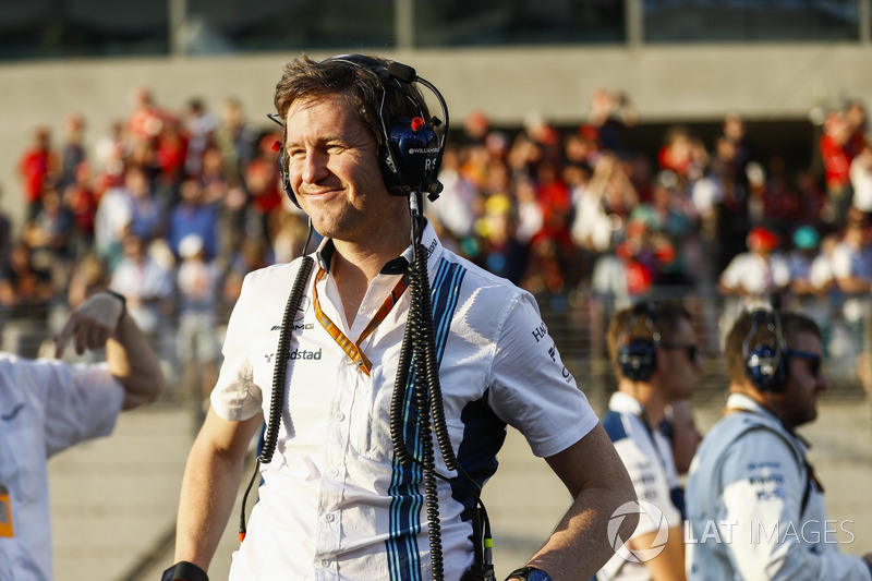 Rob Smedley, chef de la performance du véhicule de Williams
