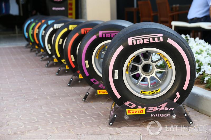 2018 Pirelli lastikleri