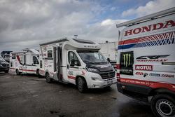 Технички команды Monster Energy Honda Team