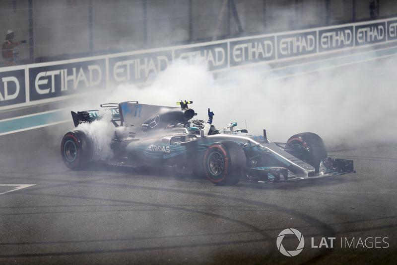 Donuts de Valtteri Bottas, Mercedes AMG F1 W08