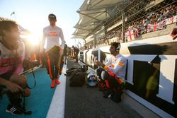 Max Verstappen, Red Bull, and Daniel Ricciardo, Red Bull Racing
