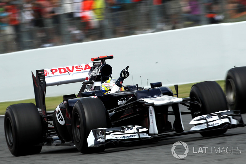 Pastor Maldonado (Williams) - GP van Spanje 2012