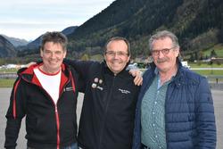 Sylvain Burkhalter, Beat Wyssen, Paul Kasper, Abarth Trofeo Slalom, podium 2017