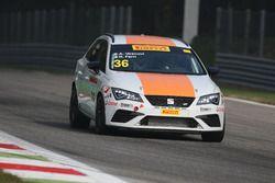 Seat Leon Cupra ST-TCS2.0 #36, Seat Motor Sport Italia: Vescovi-Ferri